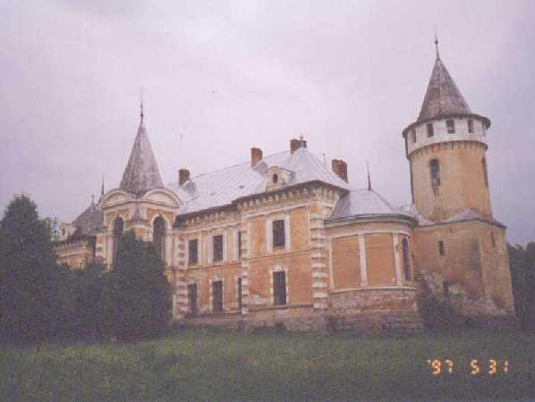 Psary, dom rodzinny mojego ojca - wejscie do Projektu Psary